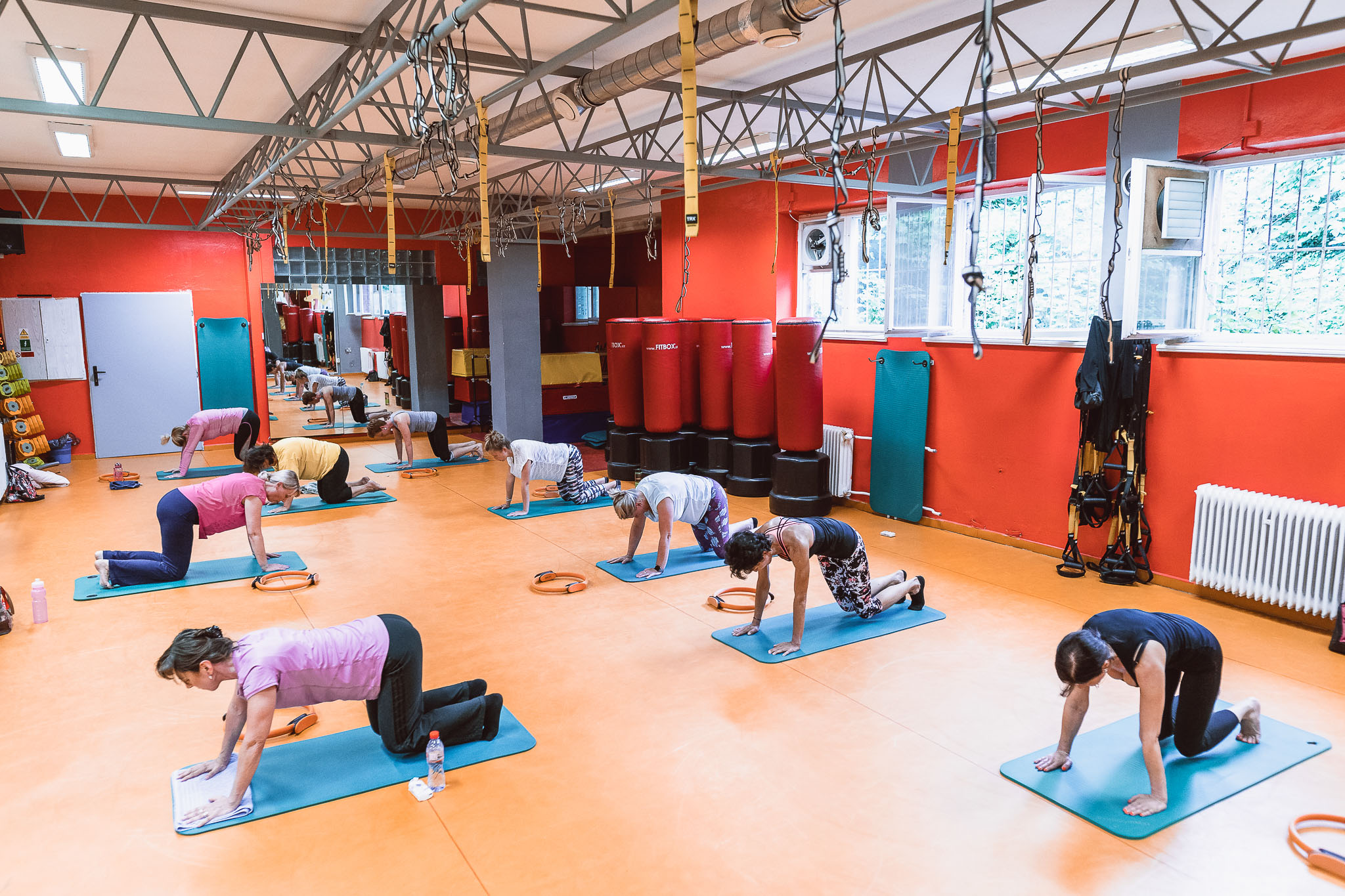 cvičení jóga, zdraví, protažení, teplice next studio fitness centrum
